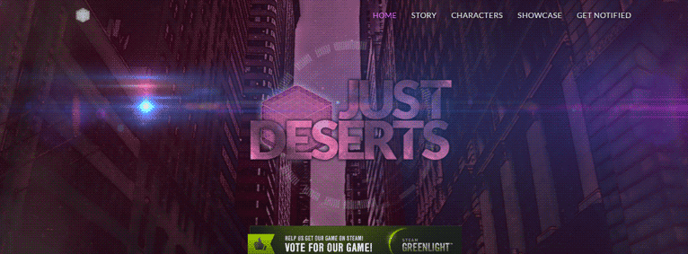 Just Deserts: Website Launch