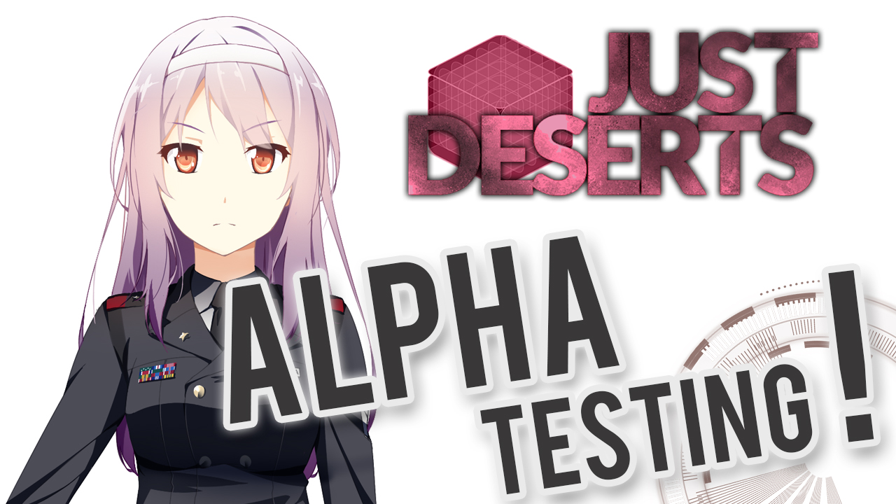 Just Desert Visual Novel Alpha Testing