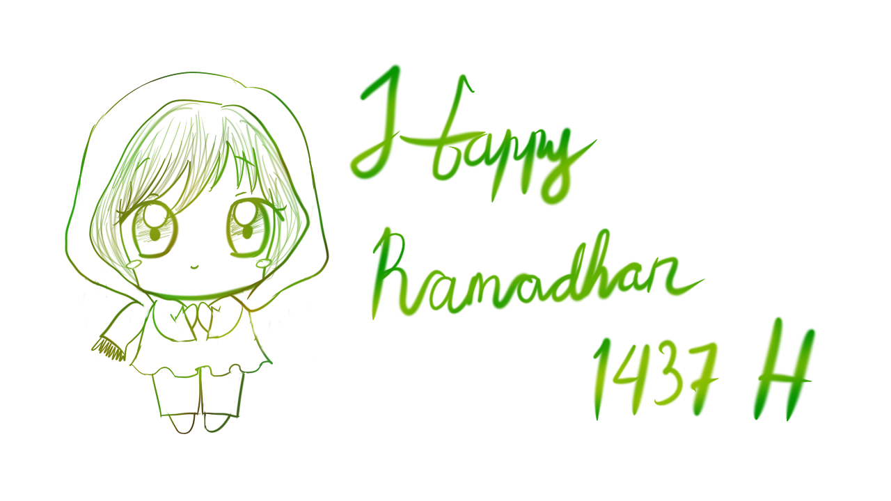 Happy Ramadhan 1437 H~